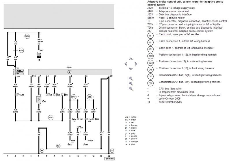 Acc Climate Control Wiring Diagram