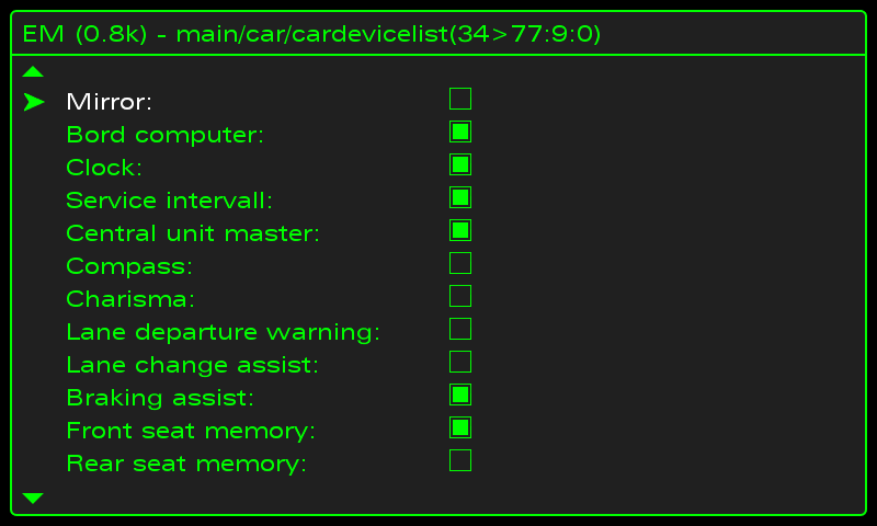 lost clock from MMI screen after using hidden menu | Audi Forum