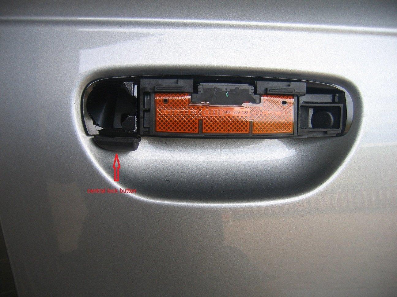 Retrofit of advanced key   Audi Forum