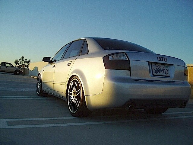 Needs pics of these black Audi Ring Emblems installed on B6